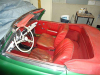 Restauration Mercedes 190SL